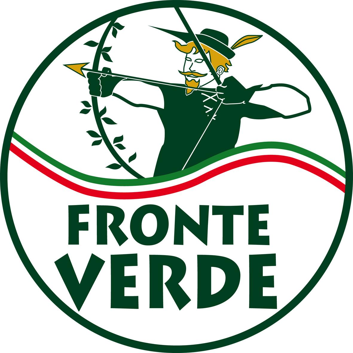 Politiche 2018, 'Fronte Verde' depositato il Logo