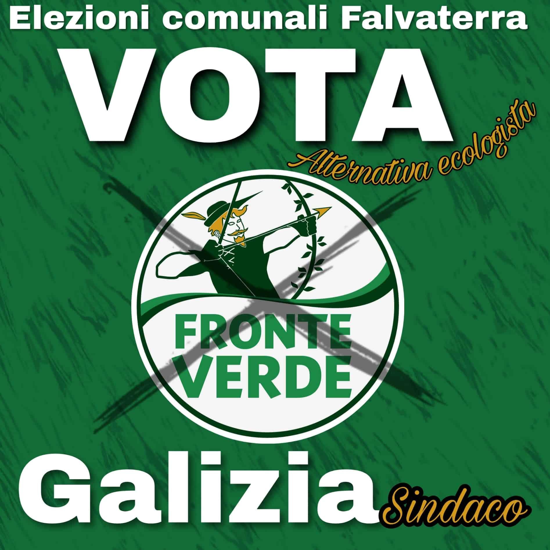 Falvaterra, Fronte Verde presente alle Comunali. Vincenzo Galizia candidato sindaco