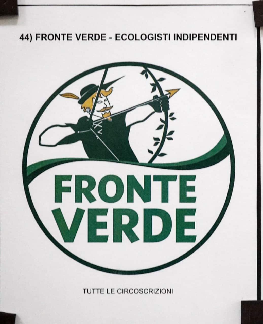 Elezioni Europee 2019, il Fronte Verde deposita il proprio simbolo