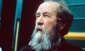 Biagio Cacciola, Solzhenitsyn il Grande