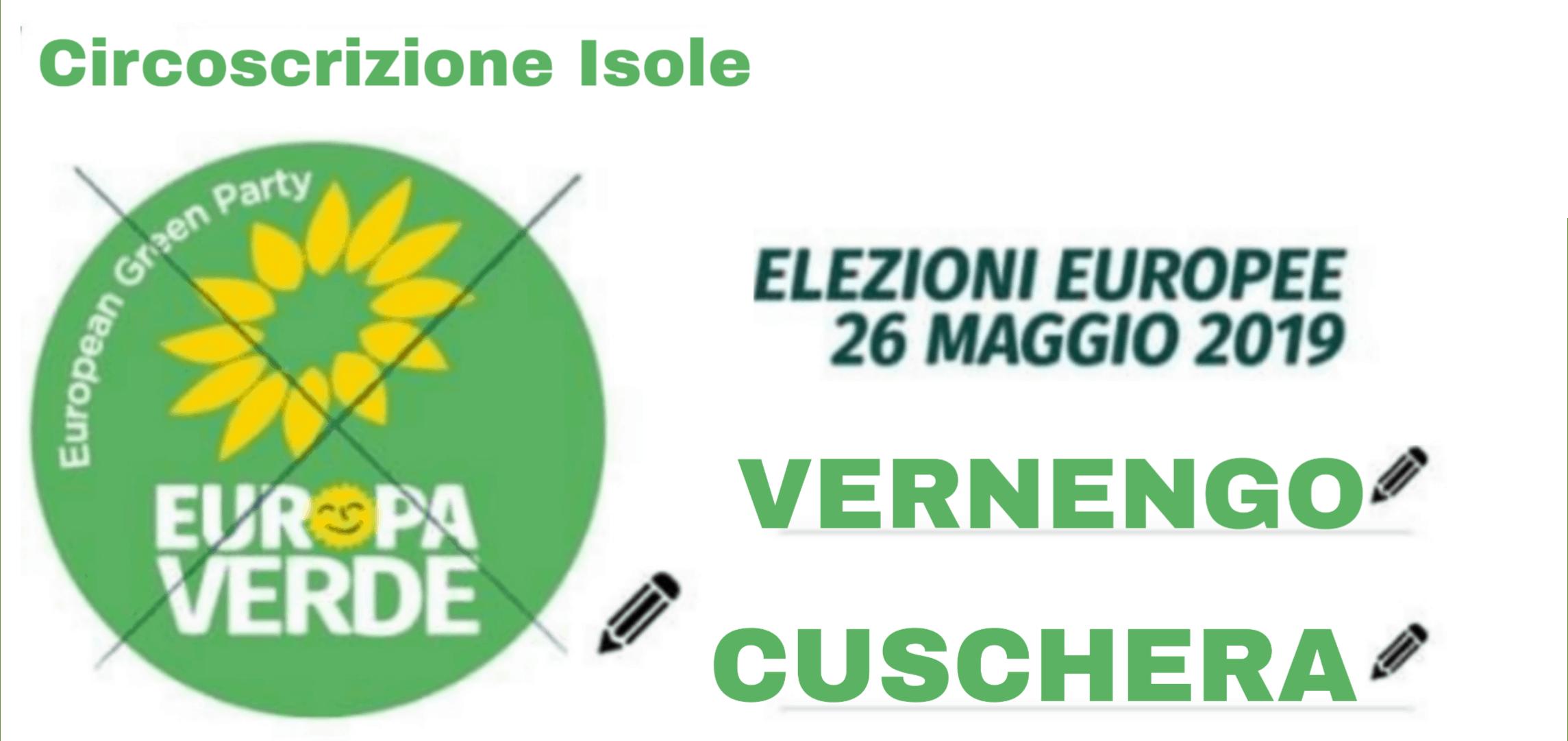 Europee, il Fronte Verde sostiene Giuseppe Cuschera