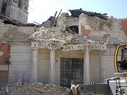 """Terremoto Abruzzo, Vincenzo Galizia: """"vicini al popolo abruzzese"""""""
