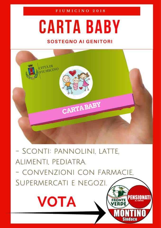 """Comunali Fiumicino, il Fronte Verde presenta la """"Carta Baby"""" e la """"Carta Senior"""""""
