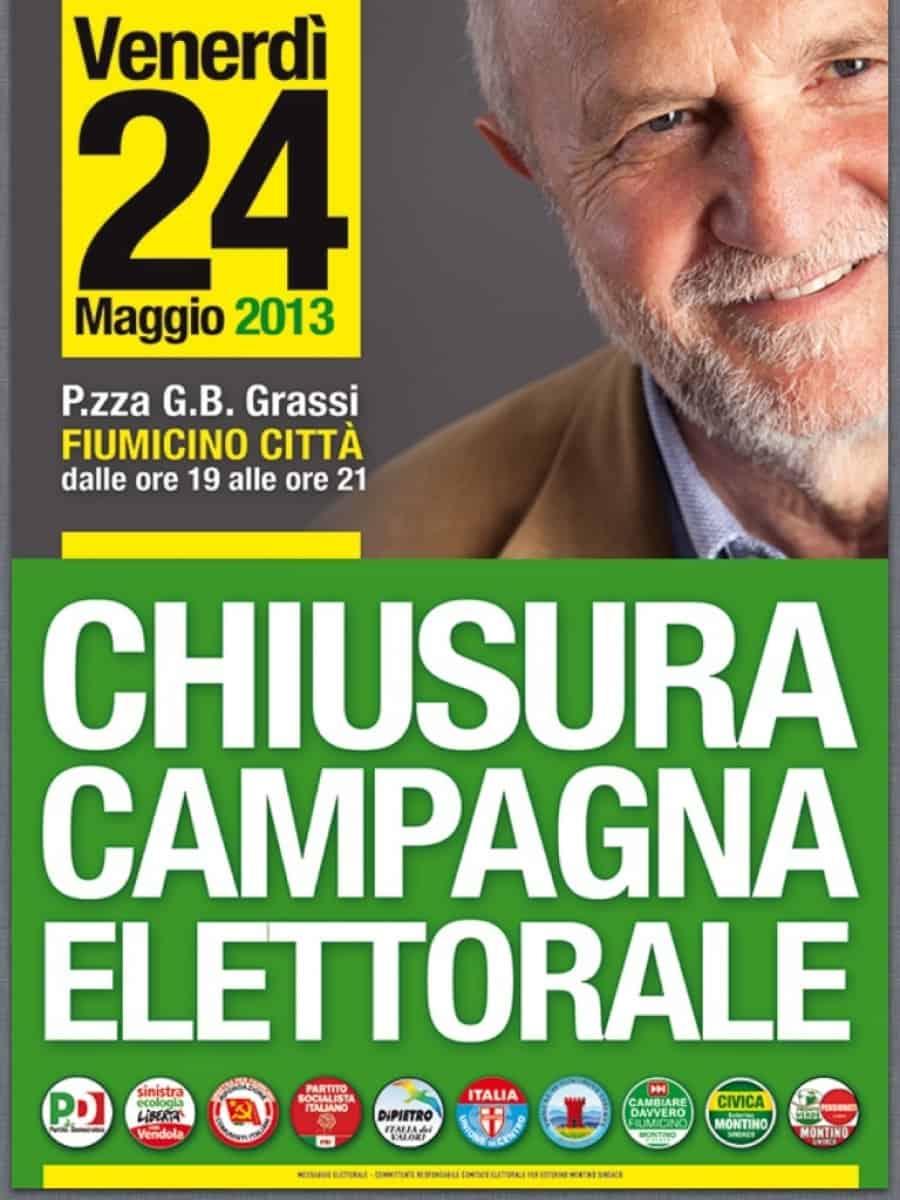 Fiumicino, chiusura campagna elettorale