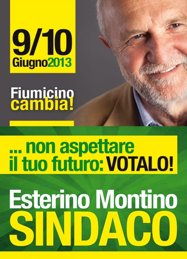 """Fiumicino, Fronte Verde: """"al ballottaggio invita a votare Esterino Montino"""""""