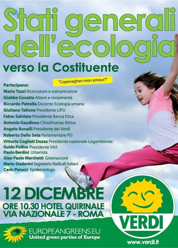 Roma, 'Fronte Verde' ha partecipato agli 'Stati Generali dell'Ecologia'