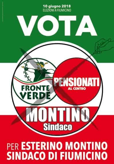Comunali Fiumicino, il 'Fronte Verde' e il partito 'Pensionati' si schierano nuovamente con Montino