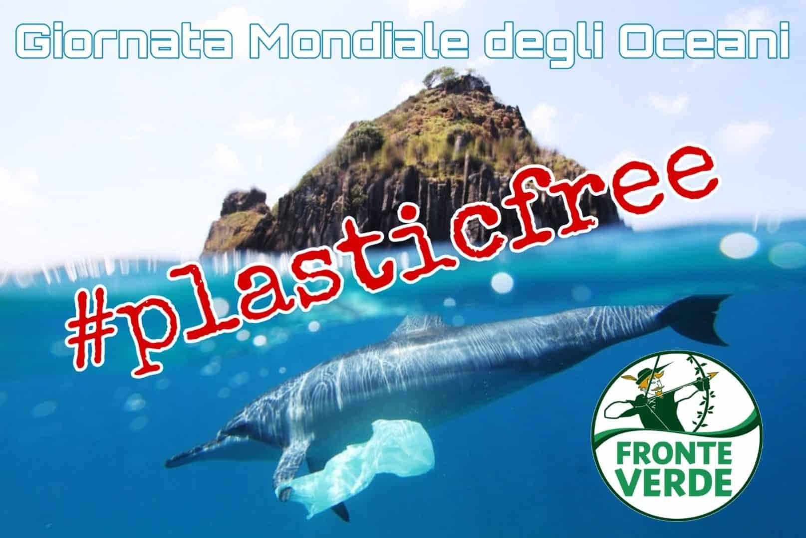 """Giornata Mondiale degli Oceani. Vincenzo Galizia: """"Basta plastica"""""""