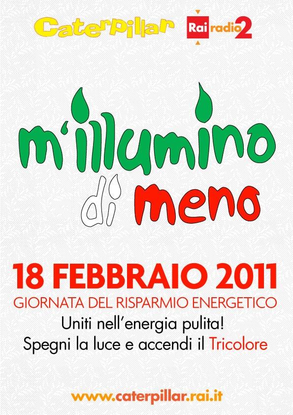 """'Fronte Verde' aderisce all'edizione 2011 di """"M'Illumino di meno"""""""