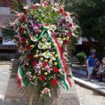 Taranto, il 'Fronte Verde' all'inaugurazione monumento caduti sul lavoro