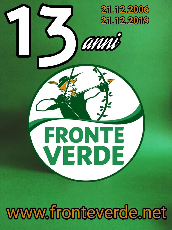 21.12.2006 – 21.12.2019, 13 anni di Fronte Verde