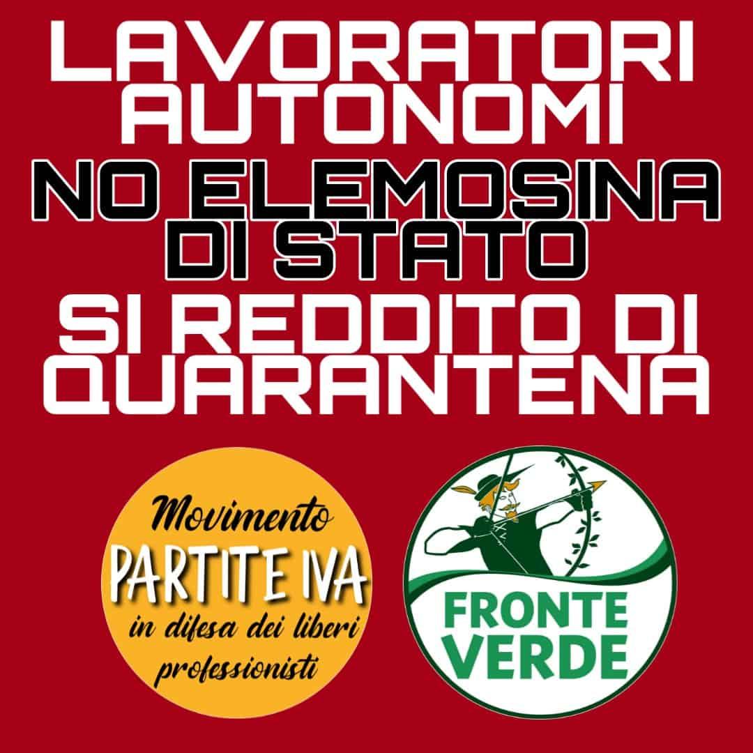 """Governo, dichiarazione congiunta Galizia e Pompei: """"Un'elemosina per le Partite IVA"""""""